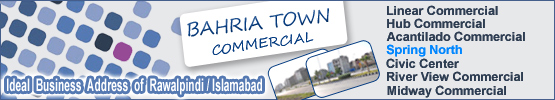 Bahria town commercail islamabad